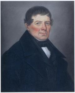 Portret van Gerrit van Staveren (1798-1859)