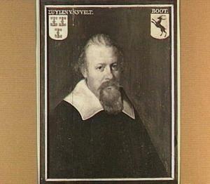 Portret van Frederik van Zuylen van Nyevelt (..-1646), echtgenoot van Anna Wtenengh