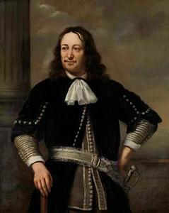 Portret van een man, mogelijk Aert van Nes (1626-1693)