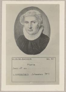 Portret van Maria Jansdr (....-....)