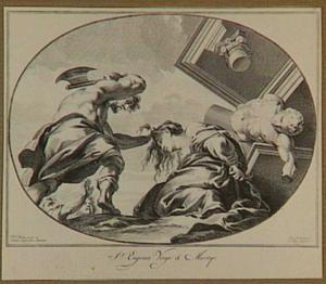 Marteling van de heilige Eugenia