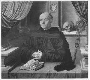Portret van abt Johann Ingenray