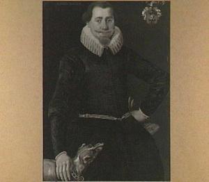 Portret van Harmen Fransz. Bockema  (1596-....), echtgenoot van Tietske Baarda