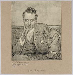 Portret van Willem Royaards
