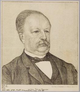 Portret van Mr. J.P.R. Tak van Poortvliet