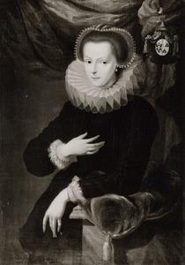 Portret van Hortensia Sweerts (?-?)