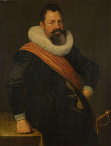 Portret van Jochem Hendricksz. Swartenhout (1566-1627)