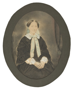 Portret van Christine Louise van Haersolte (1829-1873)