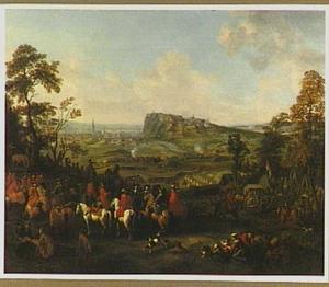 Het beleg van Namen door Willem III (1695)