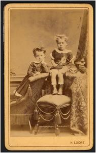 Dubbelportret van Paul Johan en Martinus Hendrik van Beresteyn