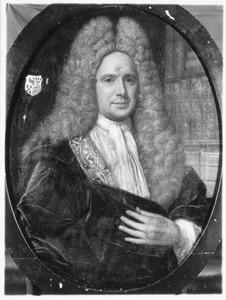 Portret van Arend de Vries (1666-1731)