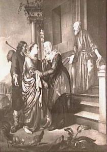 Het bezoek van Maria aan Elisabeth, de Visitatie  (Lucas 1:36-56)