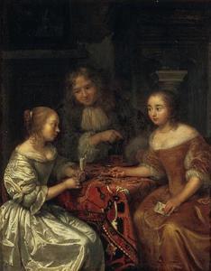 Gesprek tussen twee vrouwen en een man over een brief