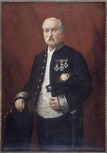 Portret van G.L.D. Franquinet (1826-1900)