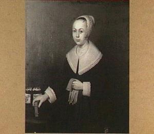 Portret van Maria Pesijn (1637-..)