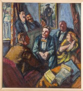Hommage aan Henri Rousseau le Douanier