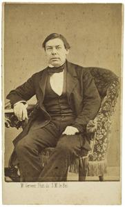 Portret van Johannes Kappeyne van de Coppello (1822-1895)