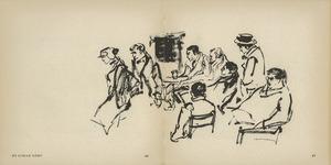Scene uit 'De IJsman komt' van Eugene O'Neill, Toneelgroep Theater 1958-'59