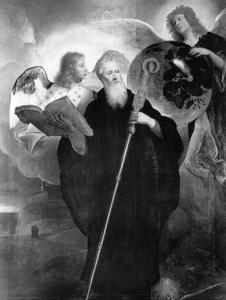 Het visioen van de H. Benedictus van de gloeiende wereldbol