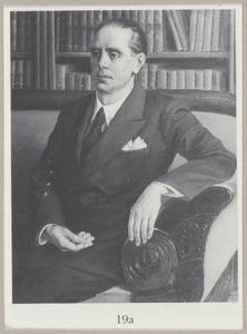 Portret van een man, mogelijk Joseph (Joop) Otto Kronig (1887-1984)