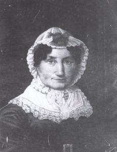Portret van Christina Margaretha Luyken (1764-1834)