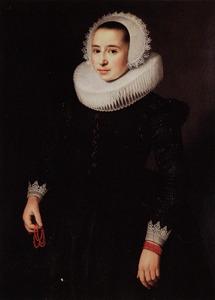Portret van een onbekende vrouw, genaamd: 'countess of Goudemar' (?-?)