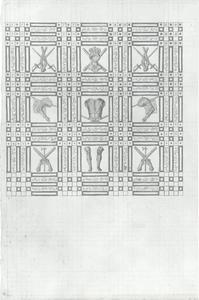 Ornament-ontwerp van trofeeën