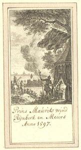 De belegering en de overwinning van Prins Maurits van Oranje-Nassau van Rheinberg (Rijnberk) 1597