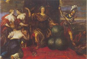 Allegorie op de gelukkige heerschappij Christian I van Denemarken