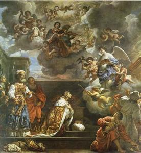 Salomon bidt om wijsheid (1 Koningen 3:)