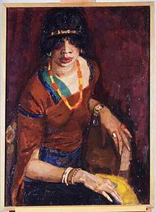 Portret van mevrouw De Meyere (1881-1932)