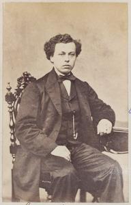Portret van een man uit familie Stenstra