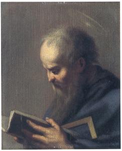 De apostel Judas Thaddeus lezend