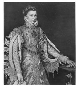 Portret van Elisabeth van Valois, derde echtgenote van Filips II