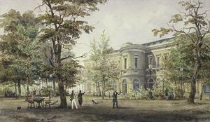 Het Groote Museum gezien vanuit de tuin