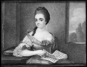 Portret van Maria Adriana Noorthey (1710-1761)