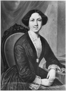 Portret van Maria Jacoba Fabricius (1831-1892)