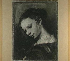 Borststuk van een vrouw