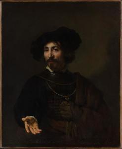 Man met een halsberg