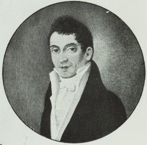Portret van Combertus Burger (1780-1817)