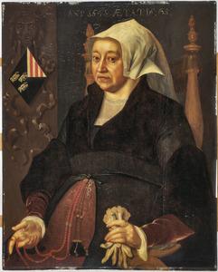 Portret van Margaretha van Binchem (....-1546)