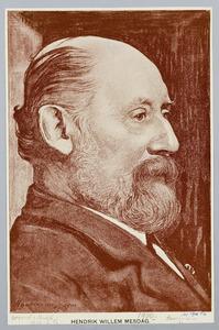 Portret van Hendrik Willem Mesdag (1831-1915)