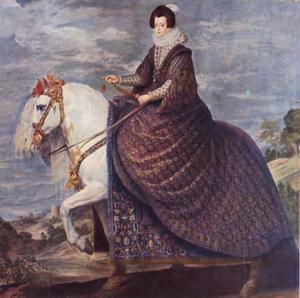 Koningin Isabella de Bourbon, vrouw van Phillips IV
