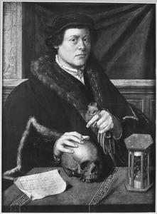 Portret van Lucas Meijnertszn ( -1574) alias Rijcke Luytgen