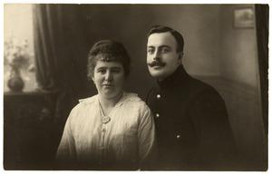 Dubbelportret van Jean d' Haese en echtgenote