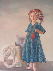 Portret van Philippa Catherine van Loon (1964)