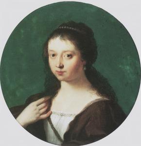 Portret van een vrouw, ten onrechte genaamd Susanna van Collen