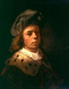 Zelfportret met tulband