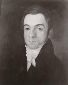 Portret  Andries Abraham Dillié (1791-1856)