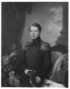 Portret van Alexander van Oranje- Nassau (1818-1848)